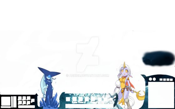 Lissandra and Soraka - League of Legends Overlay by Aenier