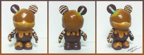 Vinylmation 3'' Sticky Sweet Custom by StephanieCassataArt