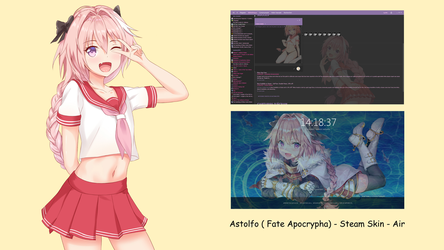 Astolfo ( Fate Apocrypha ) - Steam skin - Air by squallala1337