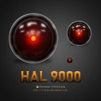 Hal 9000 Finder by r-drew
