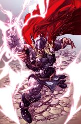 Thor issue 1 cover by sjsegovia