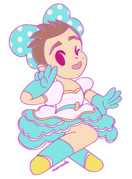 actual 2d idol jimmy whetzel by nooroodle