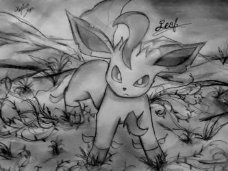 Leaf, the Leafeon by Xyvier