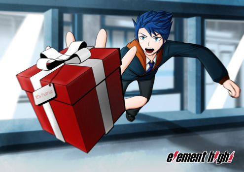 Gift Catching by Lightning-Cutter