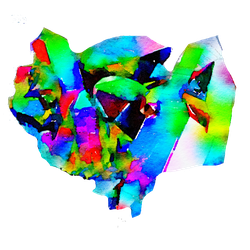 FREE-crystals-geodes-rainbow-colorful-png-USEFREE by anjelakbm