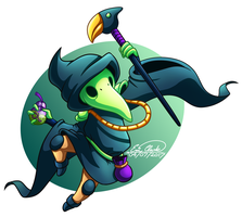 Plague Knight by Sawuinhaff