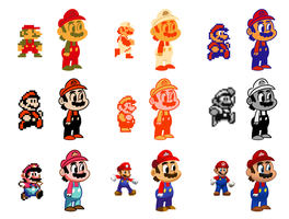 Super Mario Palettes by Emjaidi