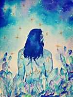 Thorin in blue and gold by Miruna-Lavinia