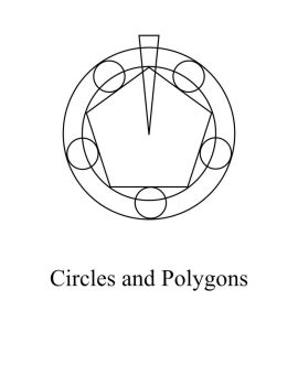 Alchemy: Circle and Polygons by Notshurly