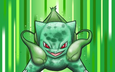 Bulbasaur, use vine whip by Paterack