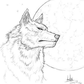 Day 15 Wolf by Crown-Wolf