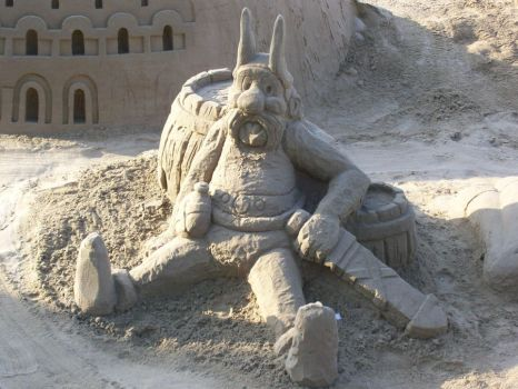 Asterix Of The Sand by DarkRaider2012