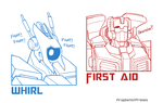 MTMTE: Whirl and First Aid by ProphetofPrimes