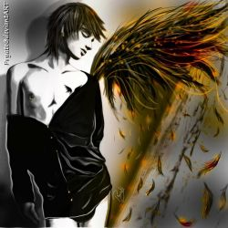 Burning my Wings for You... by Pryate