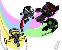 RA Powerpuffsquad by WorstCaseComics