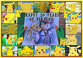 Happy 20 Years Of Pikachu~! by TheKalosQueenSerena