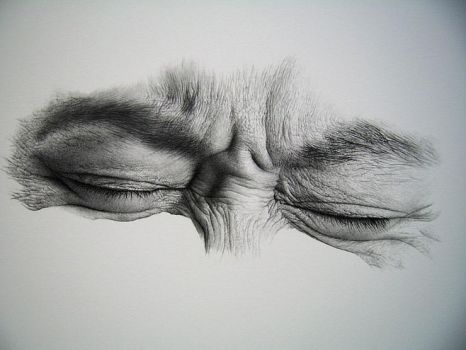 eye drawing by sharppower