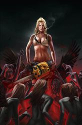 NANCY IN HELL cover by RUIZBURGOS