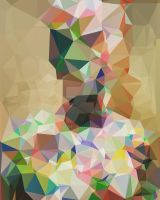 Polygons After Painting by BenHeine