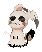 .:Cute little ghost:. by LunaticLily13