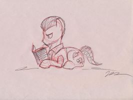Davenport of Quills and Sofas by foalpapers
