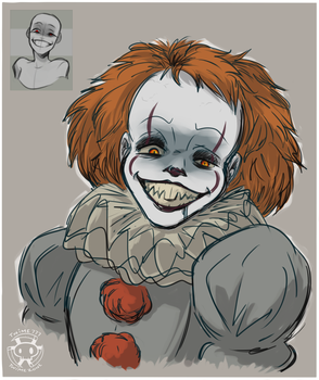 Expression Challenge - Unhinged Pennywise by Twime777