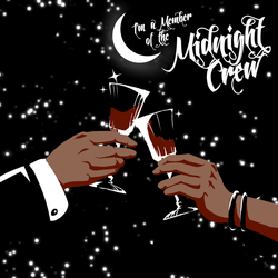 I'm a Member of the Midnight Crew - Album Cover by NomadicStardust