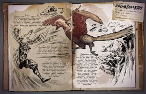 Ark: Survival Evolved Dossiers: Archaeopteryx by DJDinoJosh