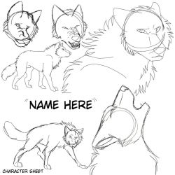 YCH Character Sheet (15 USD unlimited slots) by Gerundive