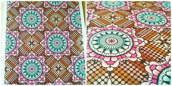 Delicate tilework by CraftColors