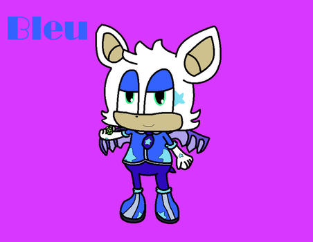 Sonic Genderbends! Bleu the Bat (6/6) by Harmony--Bunny