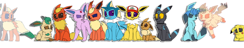 The Whole Family -Pokemon- by PikaPlatinum