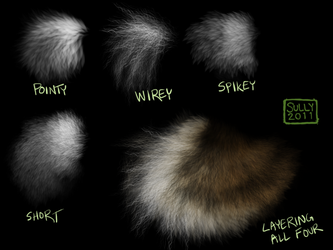 Fur Brush Pack by witherlings