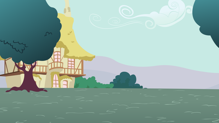 Simple Ponyville Background by Dipi11