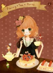 Fairy tea party by glass-dolly