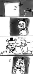 Are you ready... Freddy? by KuroNeko-art