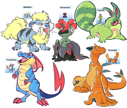 pokefusions by MrsDrPepper