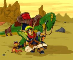 Jak and Daxter by Ryvus