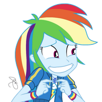 EQG Series - Rainbow Dash by ilaria122