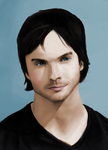 Ian Somerhalder by NairaDNV
