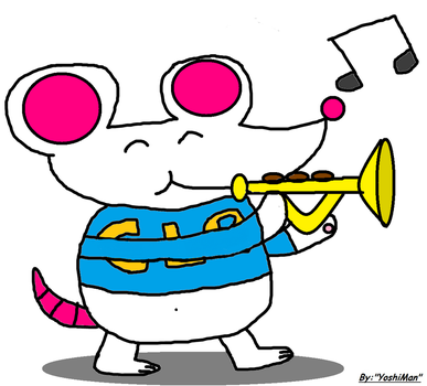 Clare The Trumpet Player By Yoshiman1118 by Ruensor