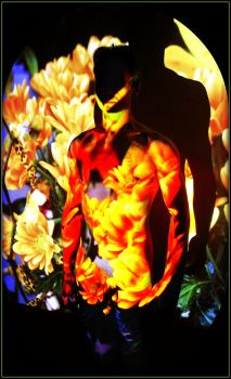All Hail the masked man of flowers by EurekaMichael
