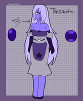 Tanzanite- Fusion of Amethyst and Moonstone by Thongchan
