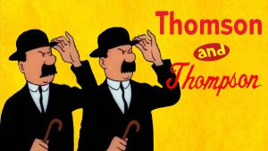 Thomson and Thompson by JeffreyKitsch