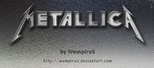 Cool Metallica Text Effect by WampiruS