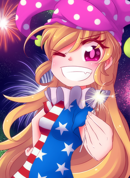Happy Fourth!!! by LittleCloudie