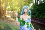 Fairy Miku elf cosplay by AnitramNoriko