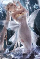 Neo Queen Serenity by sakimichan