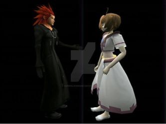 Axel and Princess Sakura (code51515 file) by superslinger2007