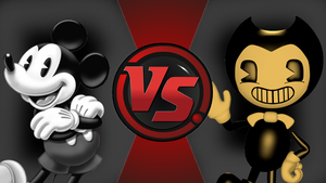 CFC|Suicide Mouse vs. Bendy by Vex2001
